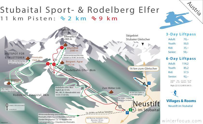 Panorama Karte Sportberg Elfer